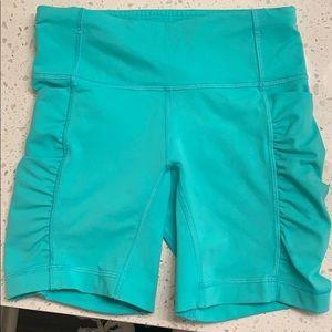 Lululemon shorts. Mid length